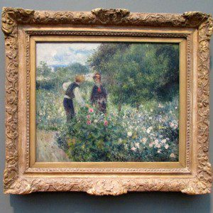 Intimate Impressionism at the McNay Art Museum:  August Renoir landscape painting