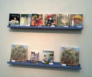 Intimate Impressionism at the McNay Art Museum: exhibit catalog and art books to browse