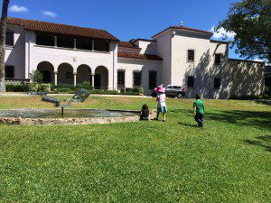 McNay Art Museum grounds