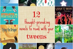 12 Thought Provoking Novels to Read with your Tween
