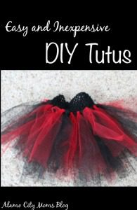 Easy and Inexpensive DIY Tutus