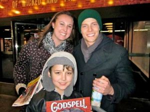 On Broadway with Hunter Parrish