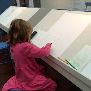 Sketching at Intimate Impressionism at the McNay Art Museum | Alamo City Moms Blog