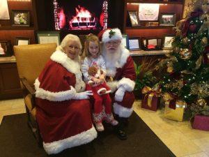 Santa & Mrs. Claus were ADORABLE!
