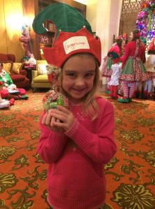 """My precious """"Gingersnap,"""" during the """"Making of a Certified JW Elf"""""""