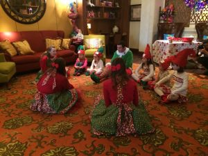 """The """"Making of a Certified JW Elf"""" class = super cute and a blast for the kiddos"""
