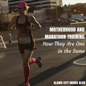 Motherhood and Marathon Training