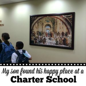 Perspectives: My son found his happy place at a charter school