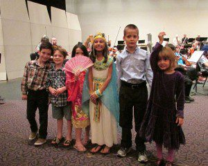 F.T. and Great Hearts Monte Vista friends at the San Antonio Symphony Halloween concert