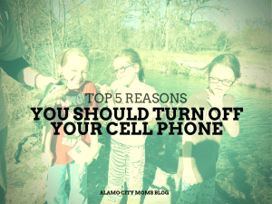 Top 5 Reasons You Should Turn Off Your Cell Phone