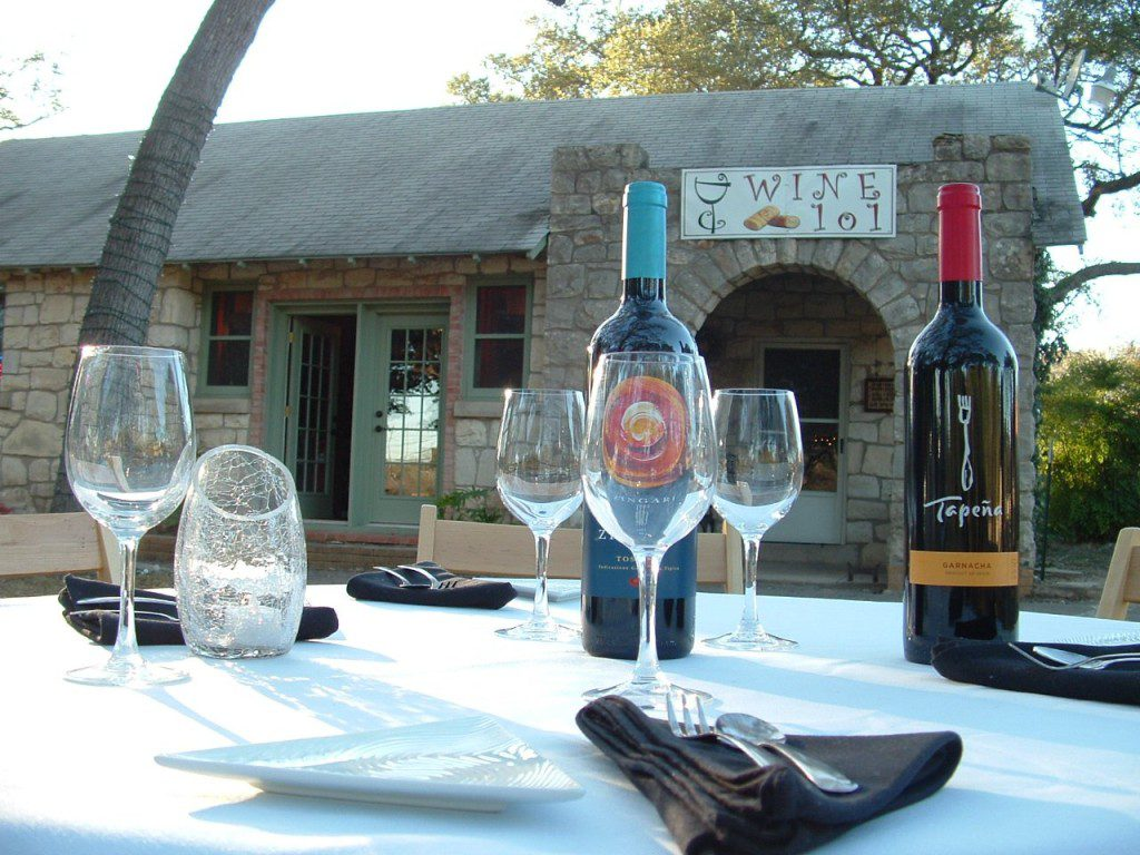Wine 101 in Helotes offers indoor and outdoor seating with a wide selection of wine and tapas.