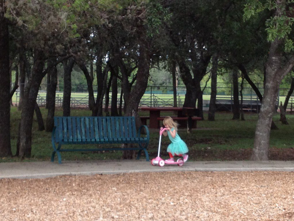 Blossom Park in the North Central area of San Antonio.