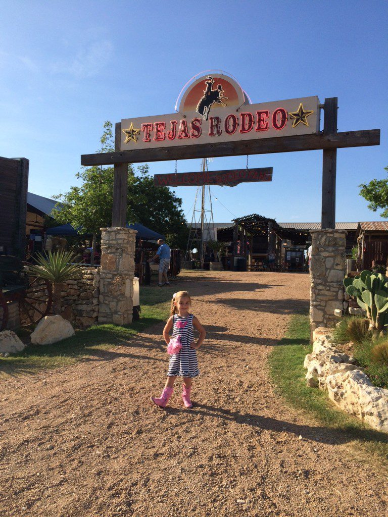 Located just off of Blanco about 10 miles from 1604, Tejas Rodeo is one of our favorite places to spend a fun evening out as a family.