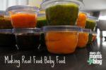 real food baby food