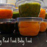 Making Real Food Baby Food