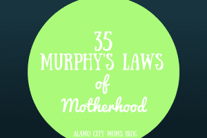 Murphy's Laws of Motherhood (1)