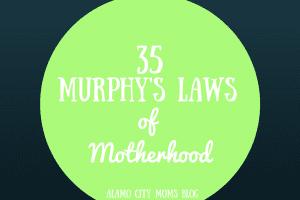 Murphy's Laws of Motherhood (1)