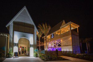 The Black Marlin at night, from their website.
