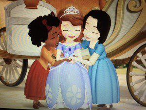I promise we will still be friends even though I'm a princess now.  Just no hugging when people are looking, okay?