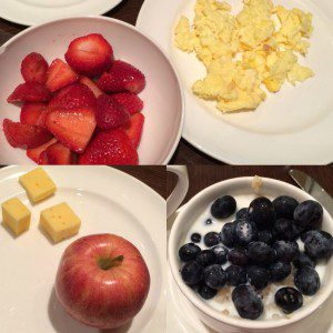 Healthy breakfast options for kids at Cibolo Moon restaurant at the JW Marriott San Antonio Hill Country Resort & Spa