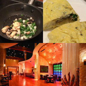 Made-to-order breakfast omelet at Cibolo Moon restaurant at the JW Marriott San Antonio Hill Country Resort & Spa