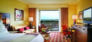 A suite at the JW Marriott San Antonio Hill Country Resort & Spa