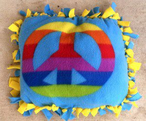 Pillow craft from Kids' Night Out at the Range Riders Kids' Club at the JW Marriott San Antonio Hill Country Resort & Spa