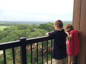 View from the balcony at the JW Marriott San Antonio Hill Country Resort & Spa