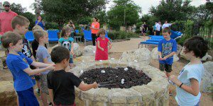 Making s'mores at the JW Marriott San Antonio Hill Country Resort & Spa