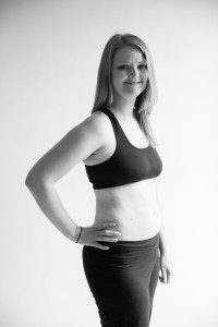 Katie, one of ACMB's first contributors, pregnant with her second child.