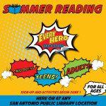 Booking it Through Summer! San Antonio's Summer Reading Programs