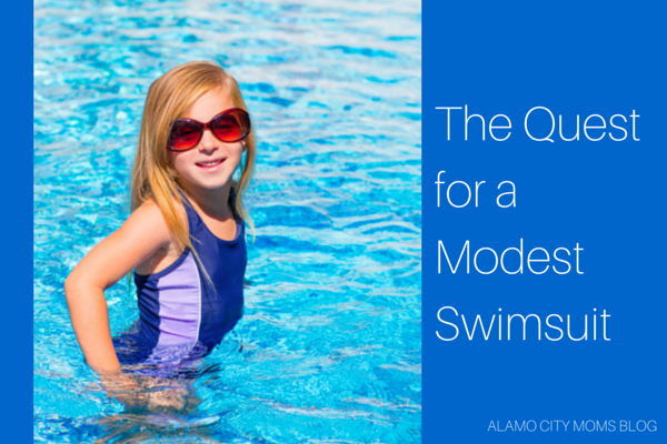 The Quest for a Modest Swimsuit