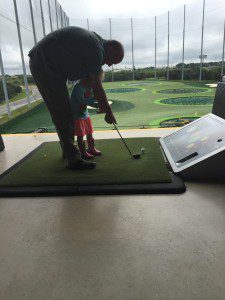 Top Golf is also fun for kids! But leave them at home on date night.