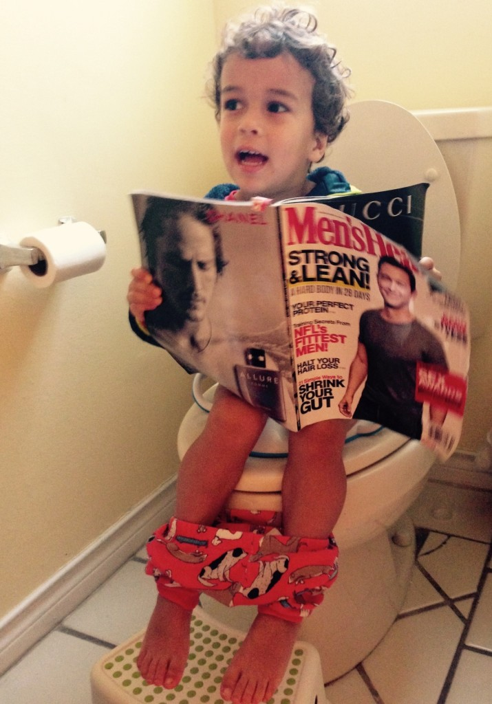 How to Potty Train Your Spirited Toddler in Four(ish) Days