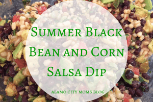 summer black bean and corn salsa dip (1)