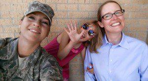 Amy & Inga at JBSA-Lackland | Alamo City Moms Blog