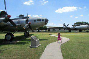Historic aircraft at the Parade Airpark at JBSA-Lackland | Alamo City Moms Blog