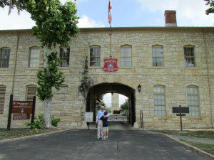 Sally Port at the Quadrangle JBSA-Fort Sam Houston | Alamo City Moms Blog