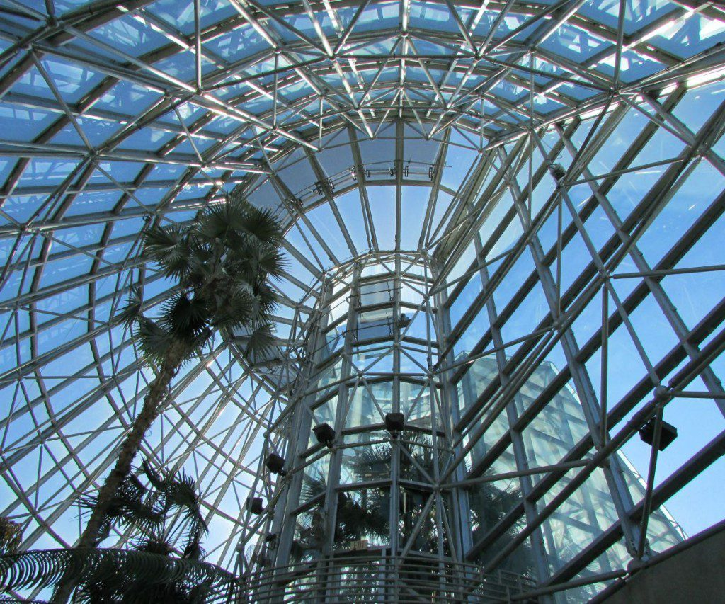 Conservatory at the San Antonio Botanical Garden | Alamo City Moms Blog