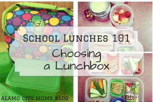 School Lunches 101- Choosing a Lunchbox