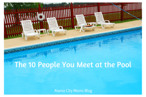 The 10 People You Meet at the Pool