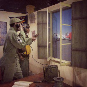 Tuskegee Airmen display at the USAF Airman Heritage Museum at JBSA-Lackland, San Antonio, Texas | Alamo City Moms Blog