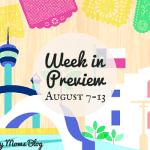 Week in Preview: August 7–13