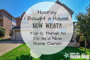 Hooray, I Bought a House...Now What?