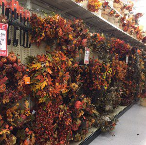 Hey Texans - better soak up all this fall foliage while you're roaming the aisles because we all know it's the closest we're going to get to seeing any color around here.