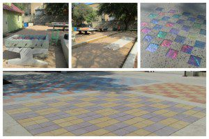 Games at Yanaguana Garden in Hemisfair | Alamo City Moms Blog