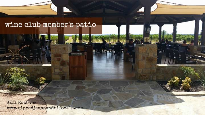 Wine Club Member's Patio