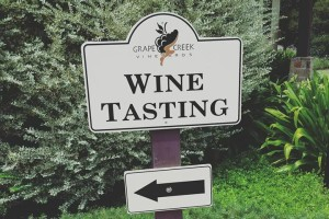 Wine Tasting at Grape Creek Vineyard