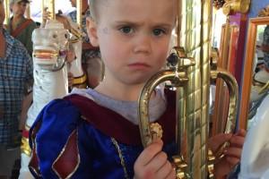 """Next time I want to go to Disneyworld, Mommy. Not Disneyland."" True story."