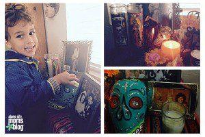Making an Authentic Dia de Los Muertos Altar